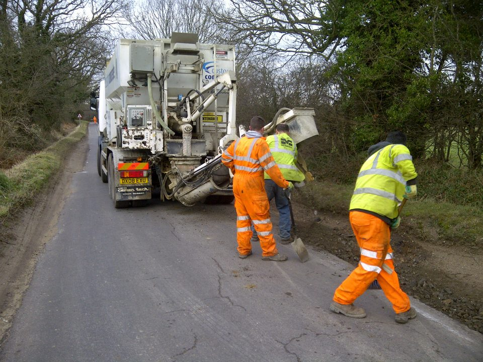 Concrete Lorry Bedfordshire