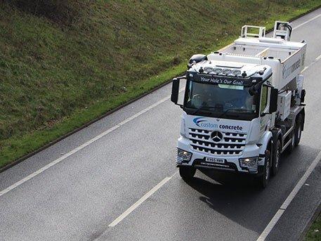 Custom Concrete Truck Hertfordshire