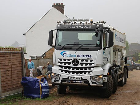 Concrete Trucks Bedford