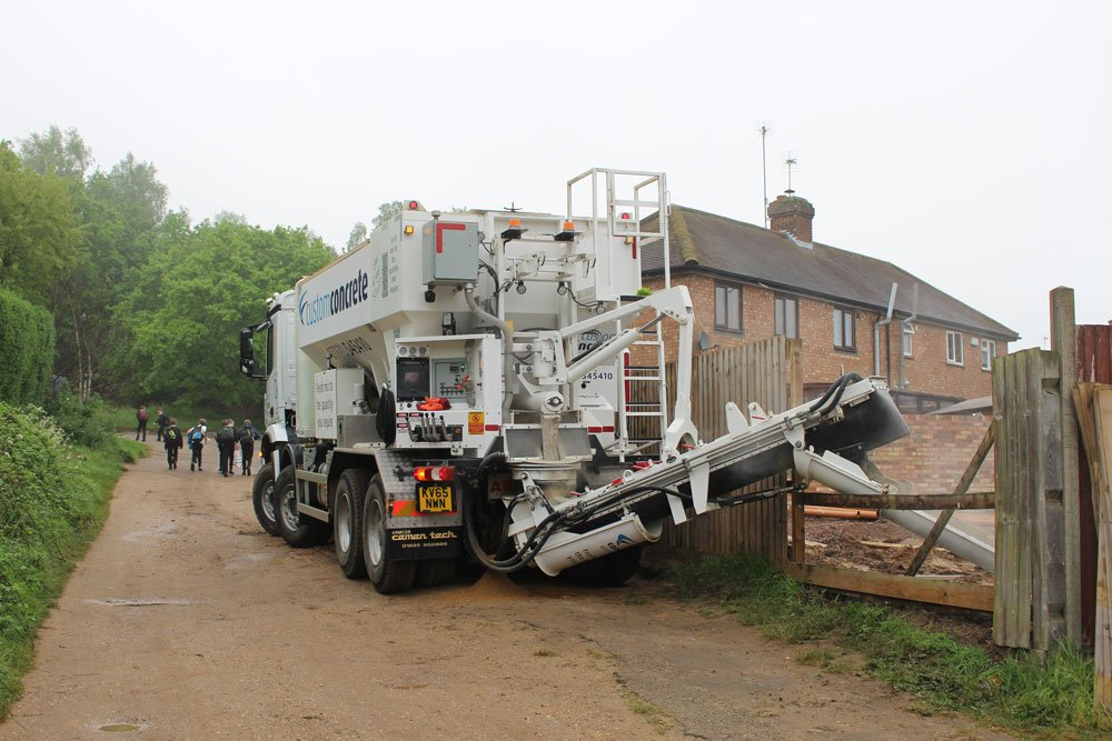 Concrete Delivery Lorry Bedfordshire