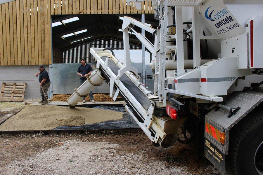 Custom Concrete Delivery Cambridgeshire
