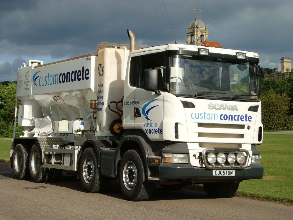 Custom Concrete Lorry