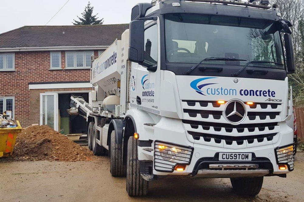 Concrete In Leighton Buzzard