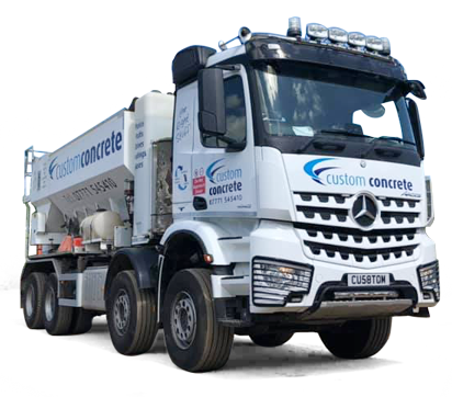 custom concrete truck