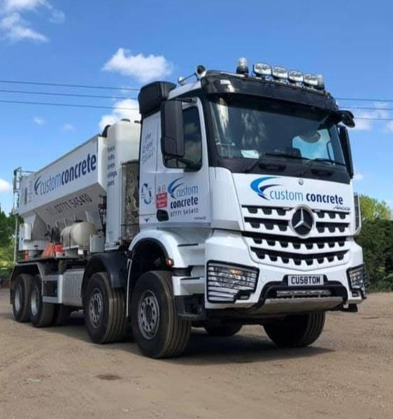 Custom Concrete Our Trucks