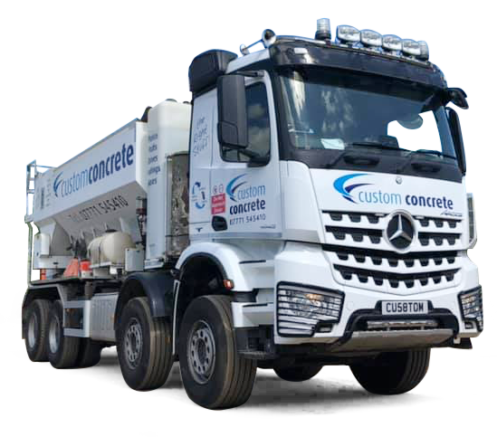 custom concrete lorry in luton
