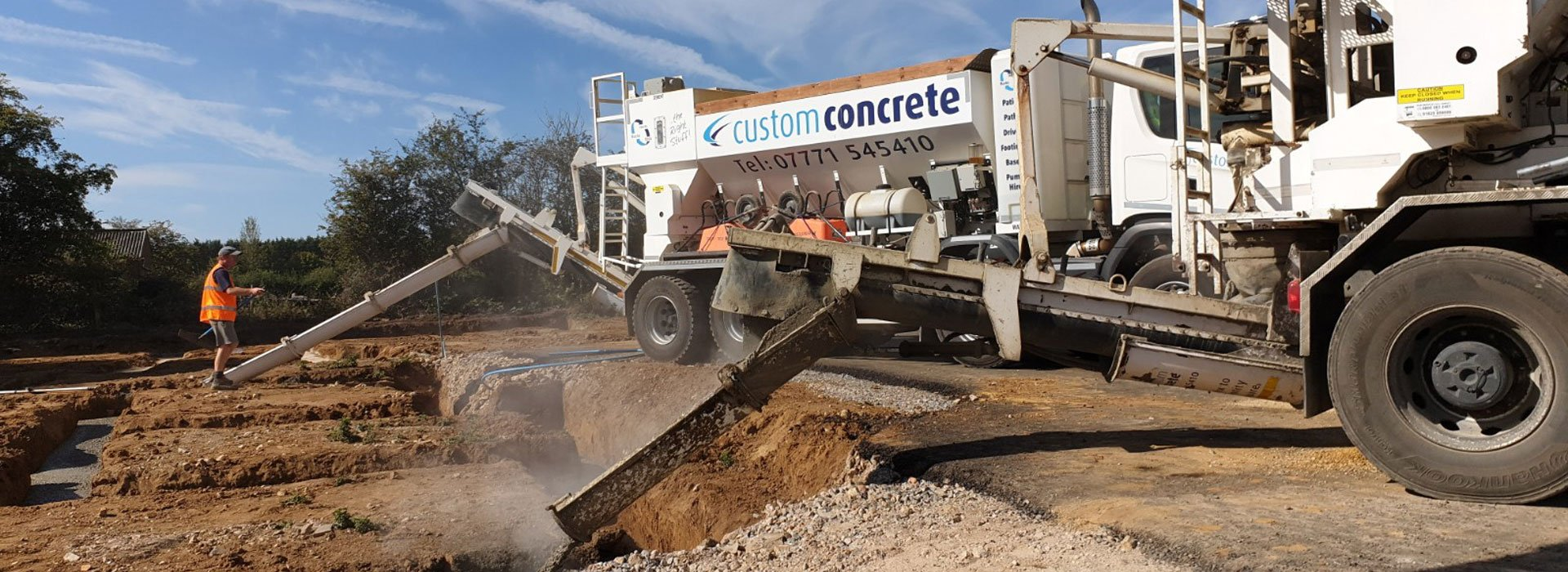 Site Mixed Concrete