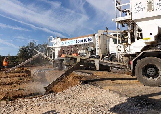 Concrete Supplier in sandy