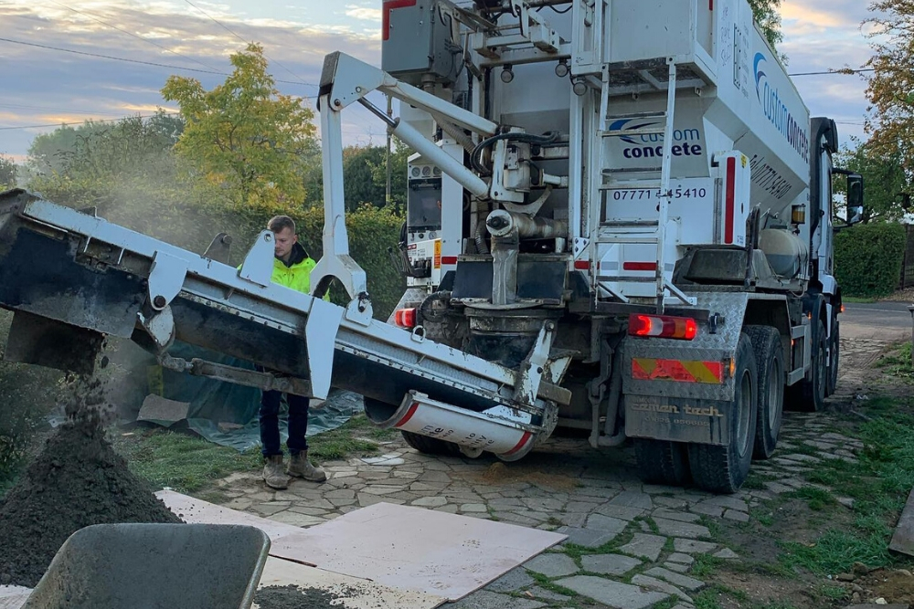Volumetric concrete delivery Harpenden